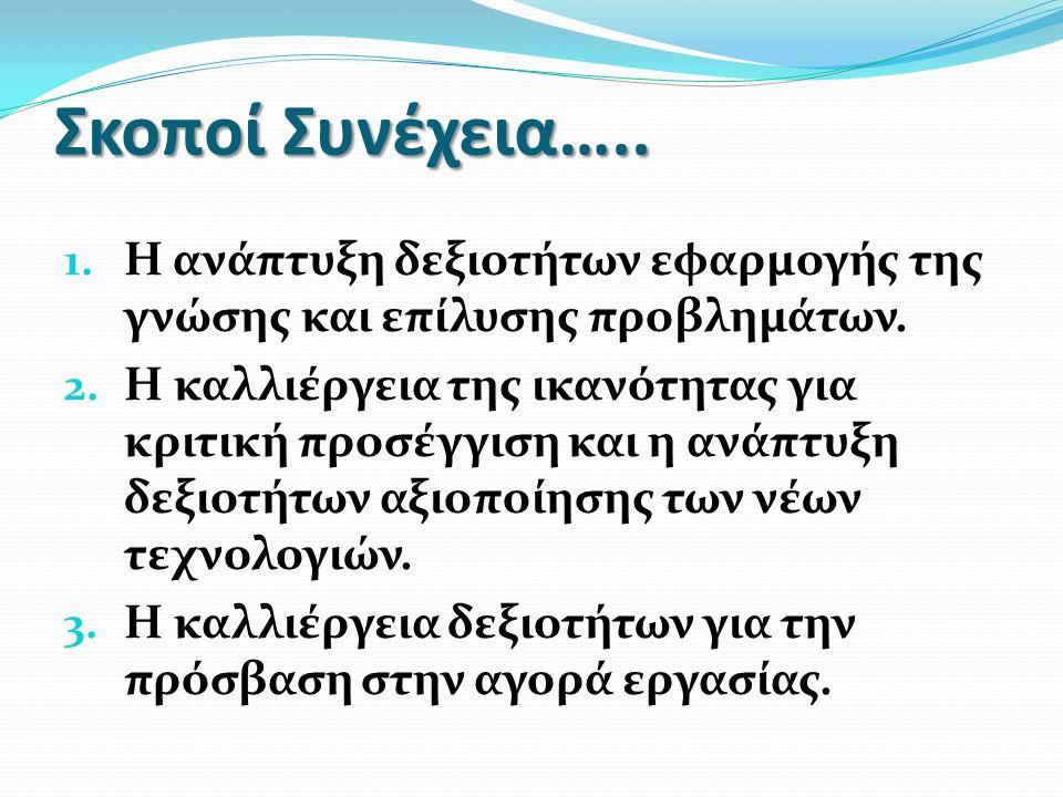 Μαθήματα Ελάχιστος Βαθμός προαγωγής Μαθηματικά 10 και άνω Ελληνική γλώσσα 10 και άνω Φυσικές επιστήμες 8 και άνω Εισαγωγή Η/Υ 8 και άνω Ιστορία 8 και άνω Φιλοσοφία 8 και άνω Πολιτική παιδεία 8 και άνω Θρησκευτικά 8 και άνω Ξένη γλώσσα 8 και άνω Φυσική αγωγήΔΕΝ ΕΞΕΤΑΖΕΤΑΙ Ερευνητική εργασίαΔΕΝ ΕΞΕΤΑΖΕΤΑΙ