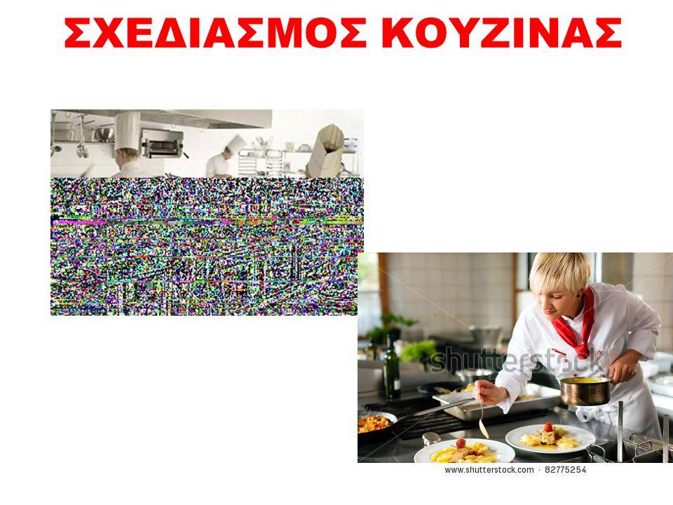 Ενότητα 1 η : Σχεδιασμός κουζίνας ΣΤΟΧΟΙ: Αναλύει τα χαρακτηριστικά γνωρίσματα μιας λειτουργικής κουζίνας Κατανοεί τι είναι παραγωγικότητα και πως σχετίζεται άμεσα με το σχεδιασμό της κουζίνας Αναγνωρίζει τη σημασία της υγιεινής και της ασφάλειας στο σχεδιασμό της κουζίνας