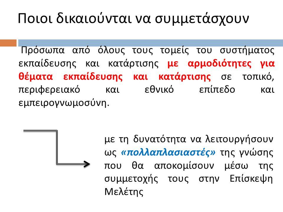 Ενδεικτικές κατηγορίες θεμάτων ( δ )