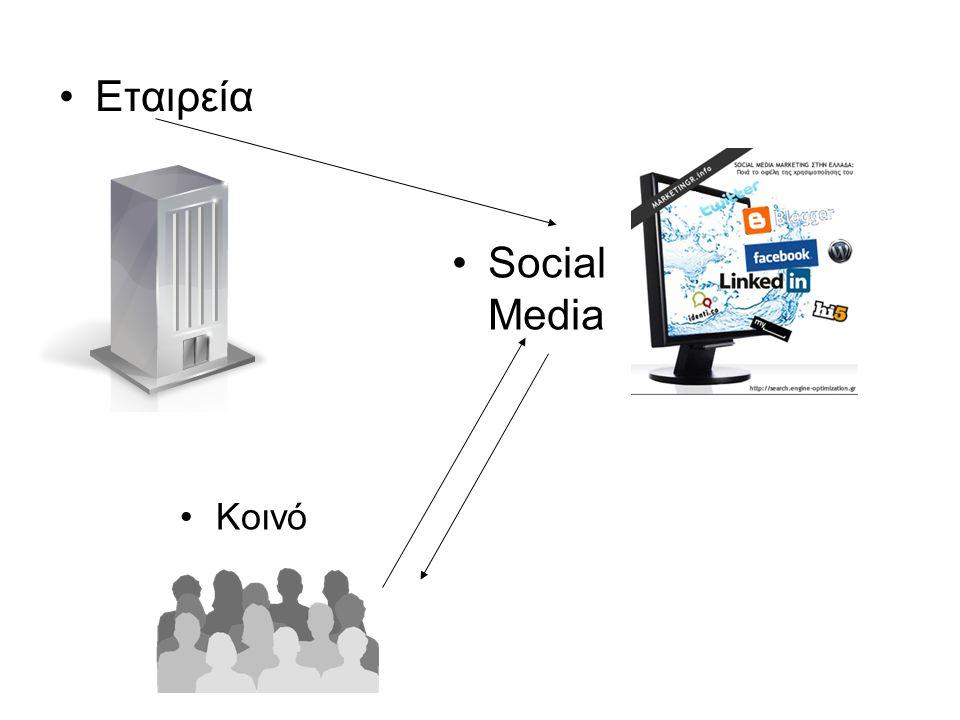 Εταιρεία Κοινό Social Media
