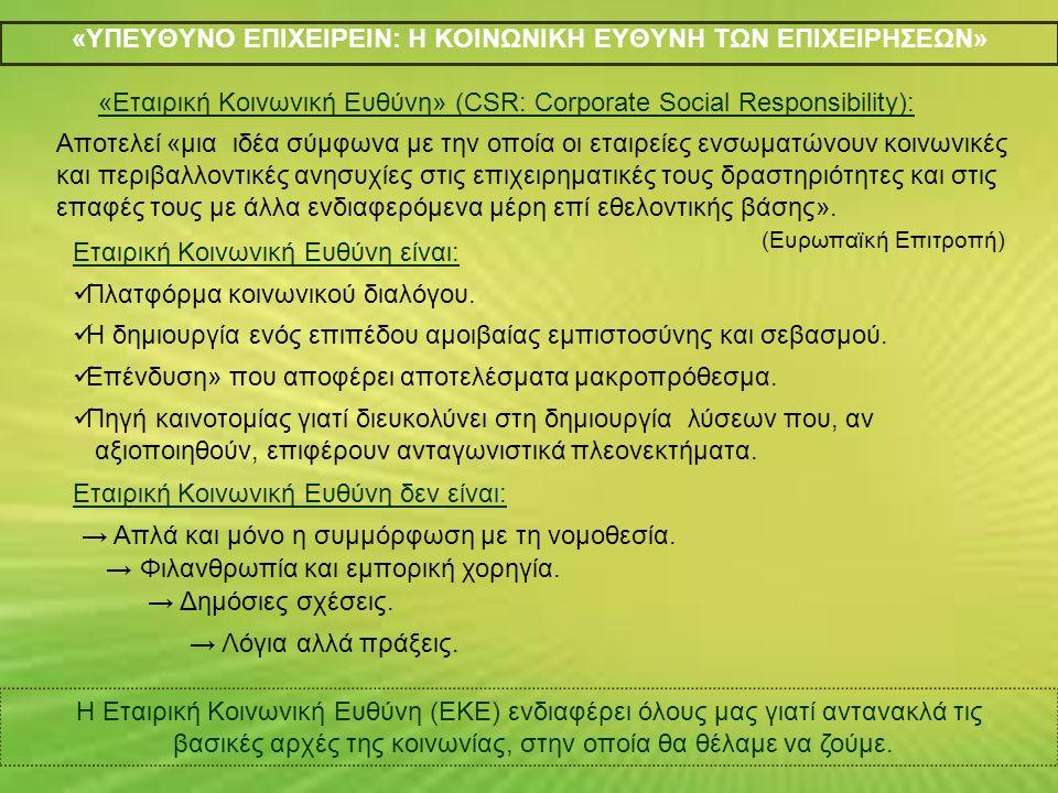 Τα Προβλήματα της Οικολογικής Ένδυσης στην Ελλάδα.