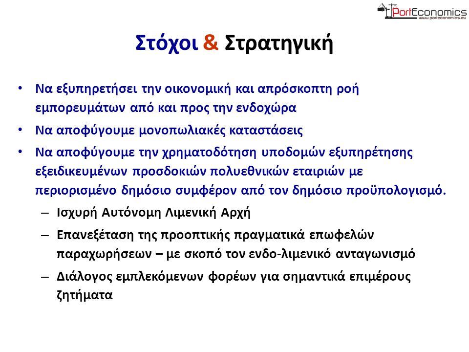 Θάνος Πάλλης Eργαστήριο Διοίκησης Ναυτιλιακών & Λιμενικών Επιχειρήσεων Τμήμα Ναυτιλίας & Επιχειρηματικών Υπηρεσιών Πανεπιστήμιο Αιγαίου apallis@aegean.gr Πρόεδρος Ένωσης Ναυτιλιακών Οικονομολόγων Ελλάδας (ΕΝΟΕ)