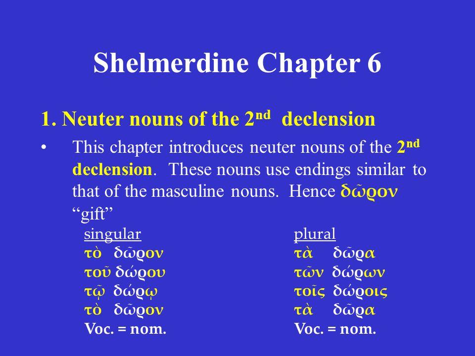 Shelmerdine Chapter 6 1.