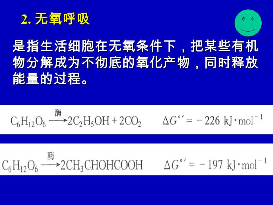 二. 生理意义 1. 为植物生命活动提供能量 2. 中间产物是合成重要有机物质的原料 3. 提供还原力 4. 在植物抗病免疫方面有重要作用