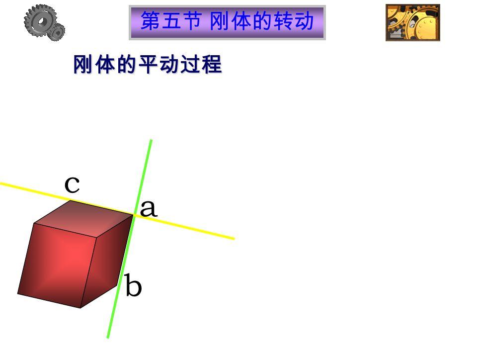 刚体的平动过程 b c a