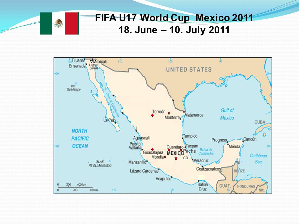Pachu ca FIFA U17 World Cup Mexico 2011 18. June – 10. July 2011