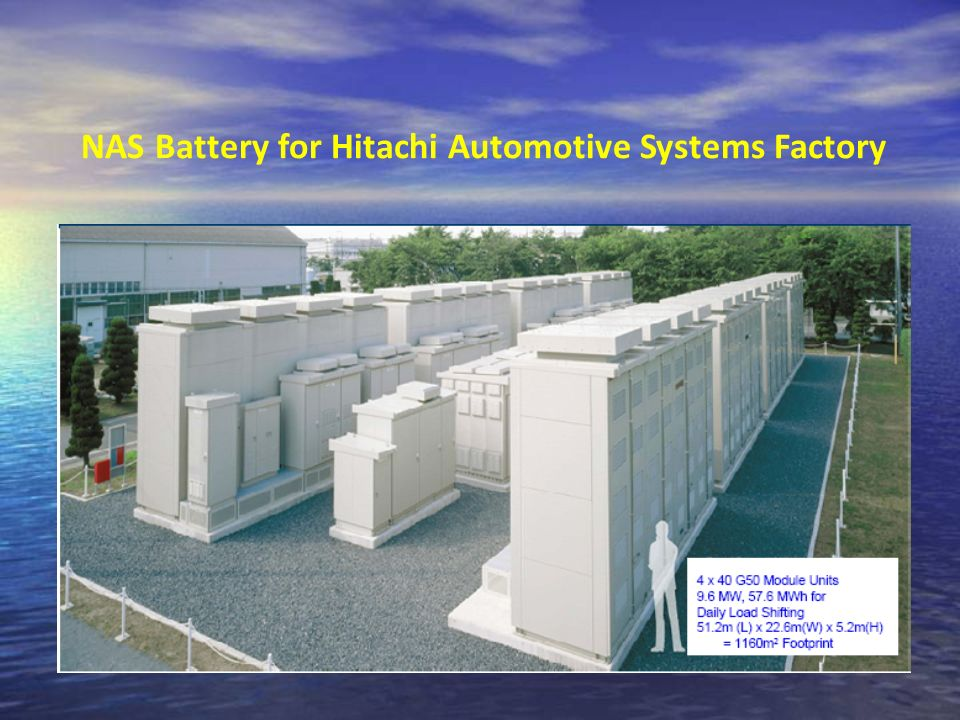 NAS Battery for Hitachi Automotive Systems Factory
