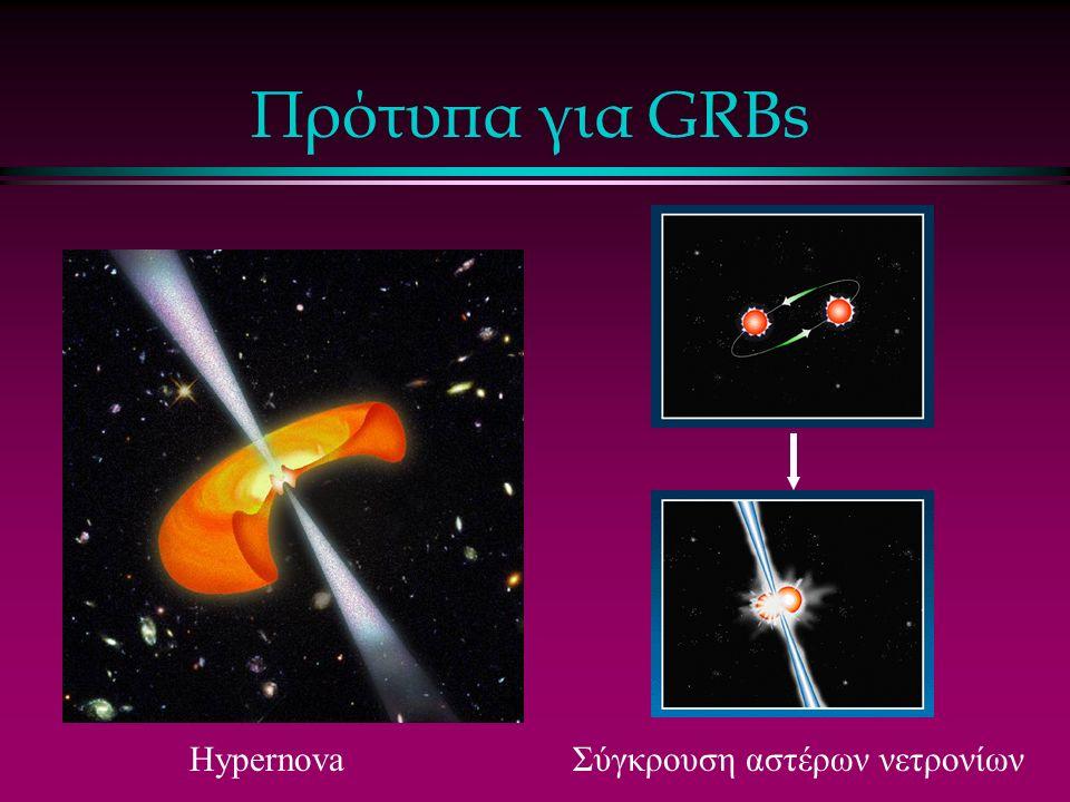 Πρότυπα για GRBs HypernovaΣύγκρουση αστέρων νετρονίων