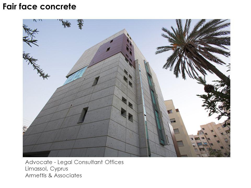 Fair face concrete Advocate - Legal Consultant Offices Limassol, Cyprus Armeftis & Associates