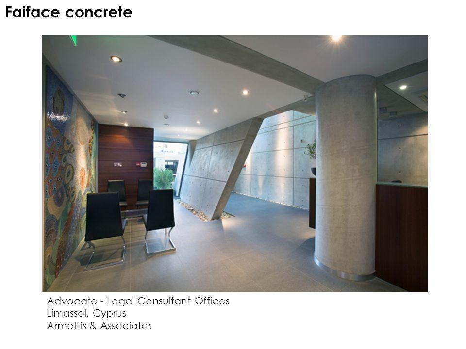 Advocate - Legal Consultant Offices Limassol, Cyprus Armeftis & Associates Faiface concrete