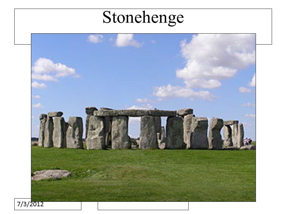 7/3/2012 Stonehenge