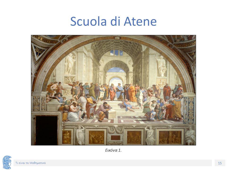 15 Τι είναι τα Μαθηματικά Scuola di Atene Εικόνα 1.