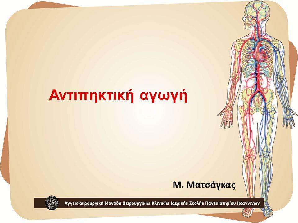 Αντιπηκτική αγωγή Μ. Ματσάγκας