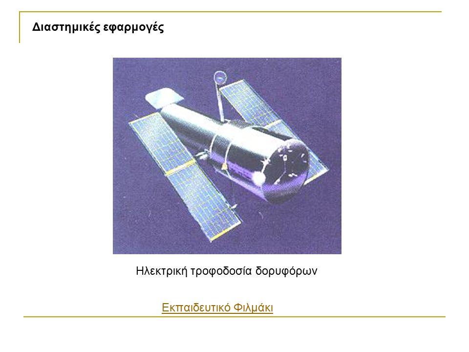Ηλεκτρική τροφοδοσία δορυφόρων Διαστημικές εφαρμογές Εκπαιδευτικό Φιλμάκι