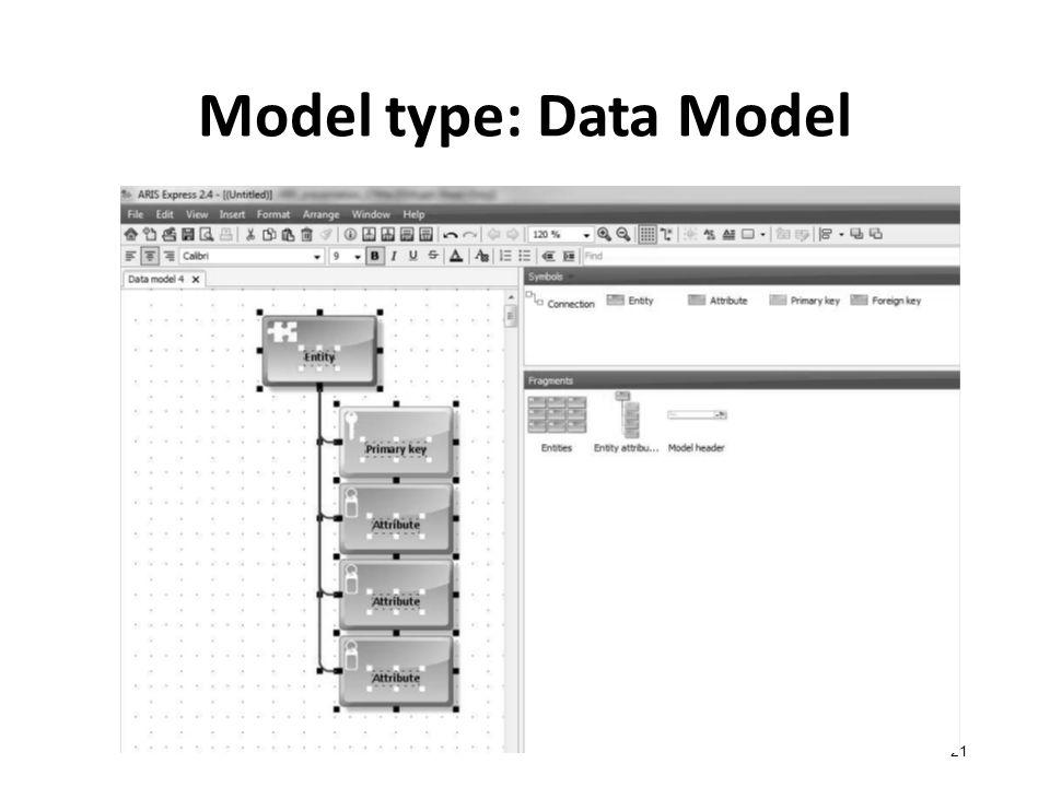 Model type: Data Model 21