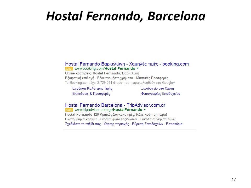 Hostal Fernando, Barcelona 47