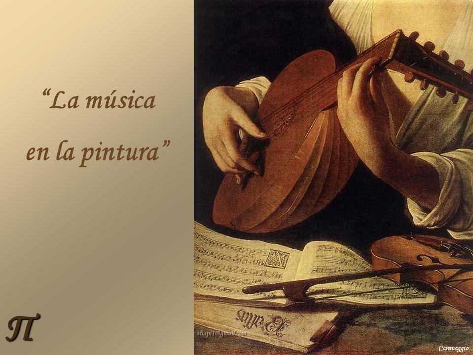 Π La música en la pintura Caravaggio