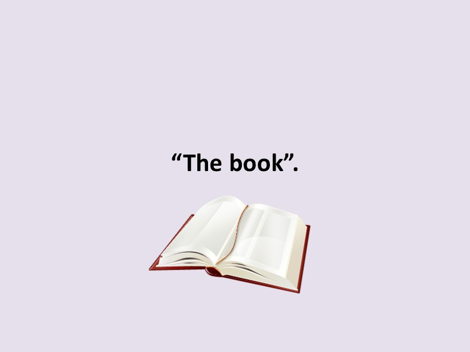 The book .