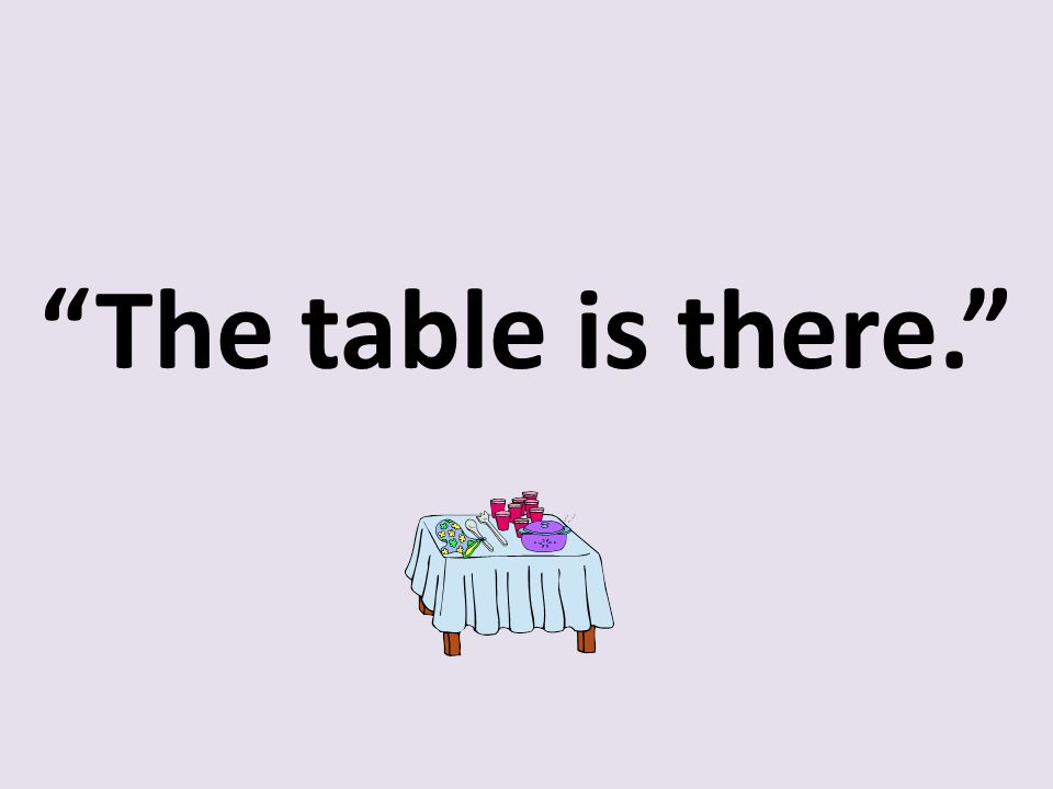The table is there.