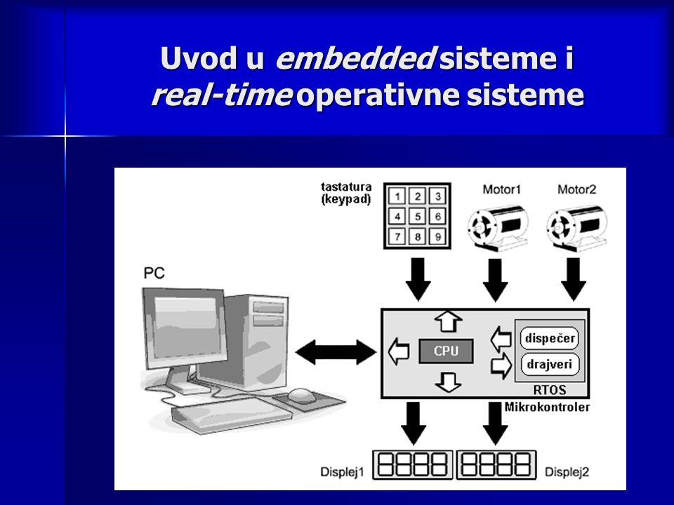 Uvod u embedded sisteme i real-time operativne sisteme