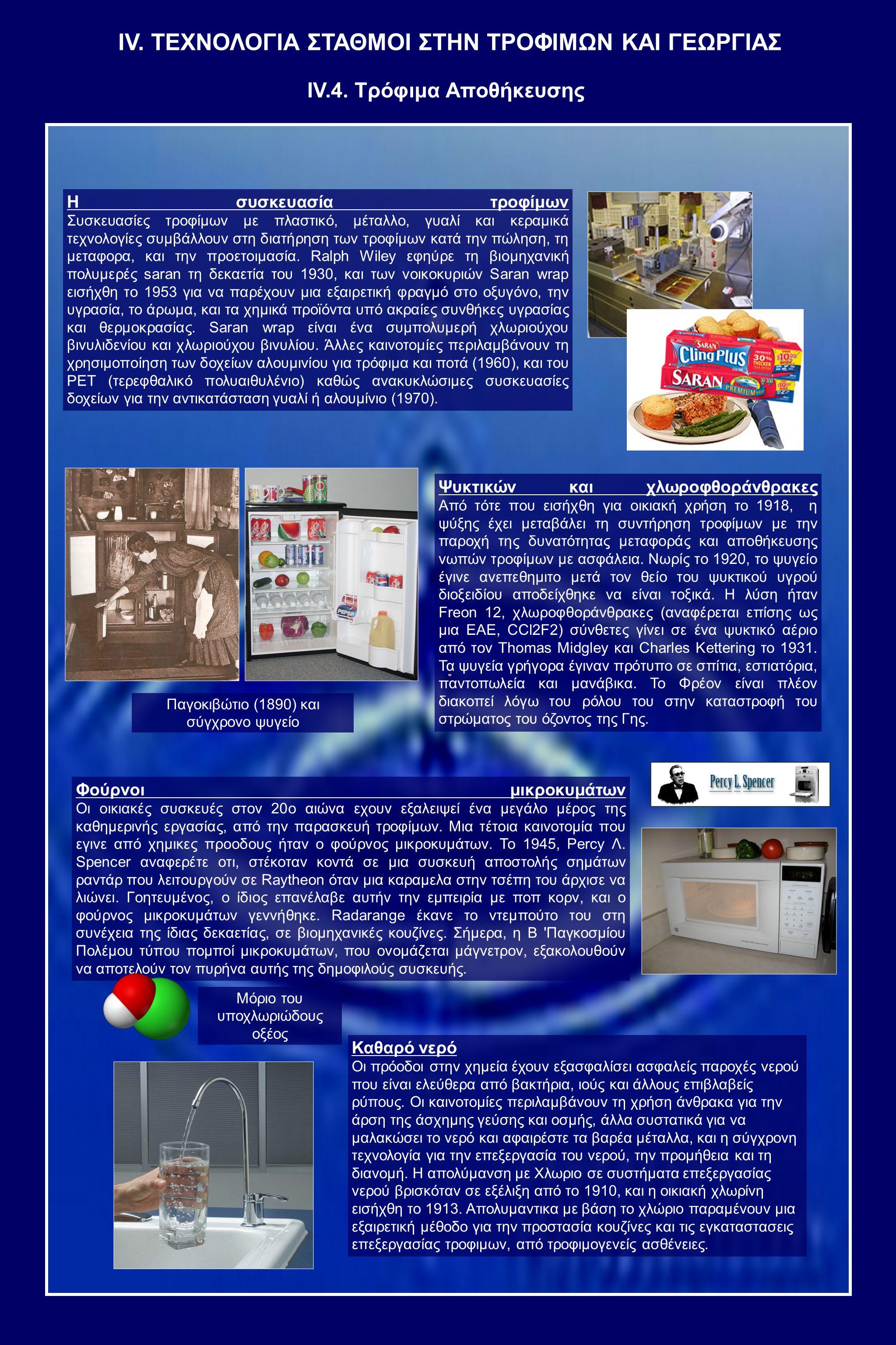Η συσκευασία τροφίμων Συσκευασίες τροφίμων με πλαστικό, μέταλλο, γυαλί και κεραμικά τεχνολογίες συμβάλλουν στη διατήρηση των τροφίμων κατά την πώληση, τη μεταφορα, και την προετοιμασία.