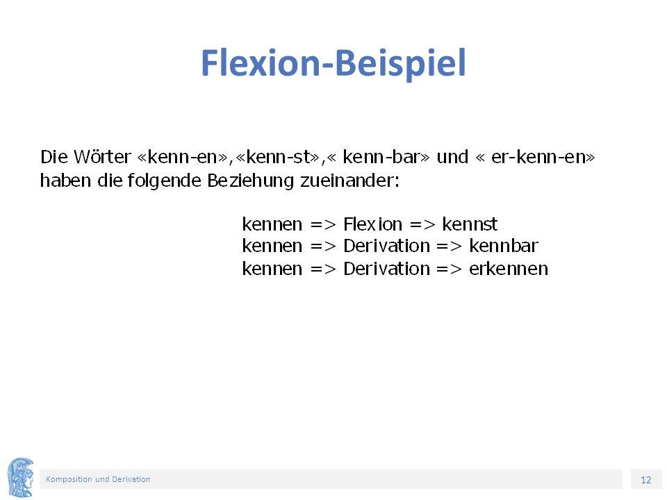 12 Komposition und Derivation Flexion-Beispiel
