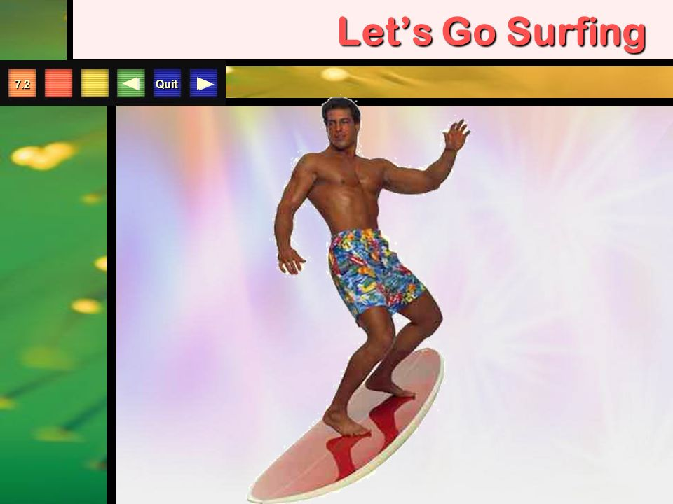 Quit 7.2 Let's Go Surfing