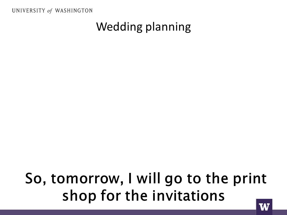 Wedding planning So, tomorrow, I will go to the print shop for the invitations