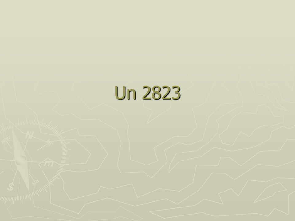 Un 2823