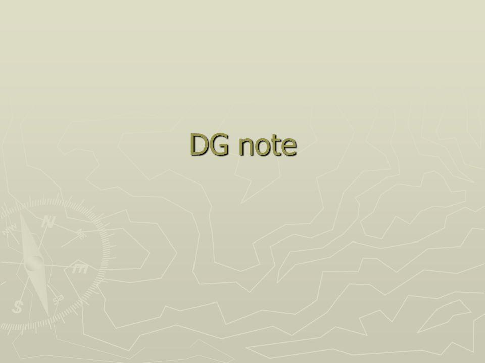 DG note
