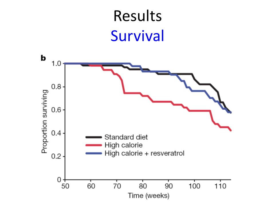 Results Survival