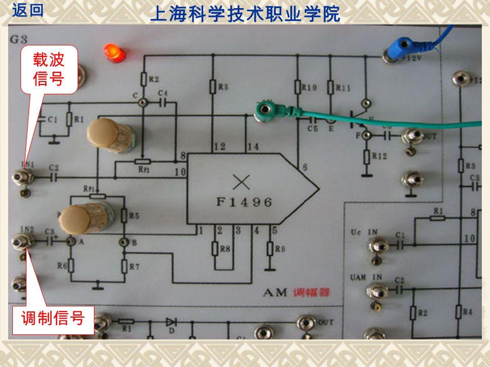 载波 信号 调制信号 上海科学技术职业学院 返回
