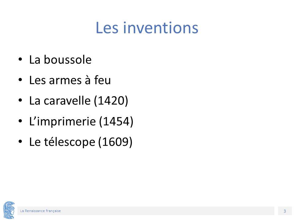 24 La Renaissance française Χρηματοδότηση Το παρόν εκπαιδευτικό υλικό έχει αναπτυχθεί στο πλαίσιο του εκπαιδευτικού έργου του διδάσκοντα.