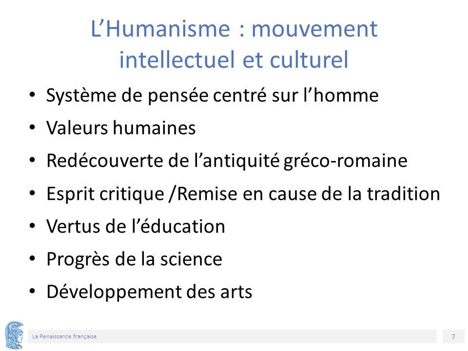 28 La Renaissance française Σημείωμα Αδειοδότησης Το παρόν υλικό διατίθεται με τους όρους της άδειας χρήσης Creative Commons Αναφορά, Μη Εμπορική Χρήση Παρόμοια Διανομή 4.0 [1] ή μεταγενέστερη, Διεθνής Έκδοση.