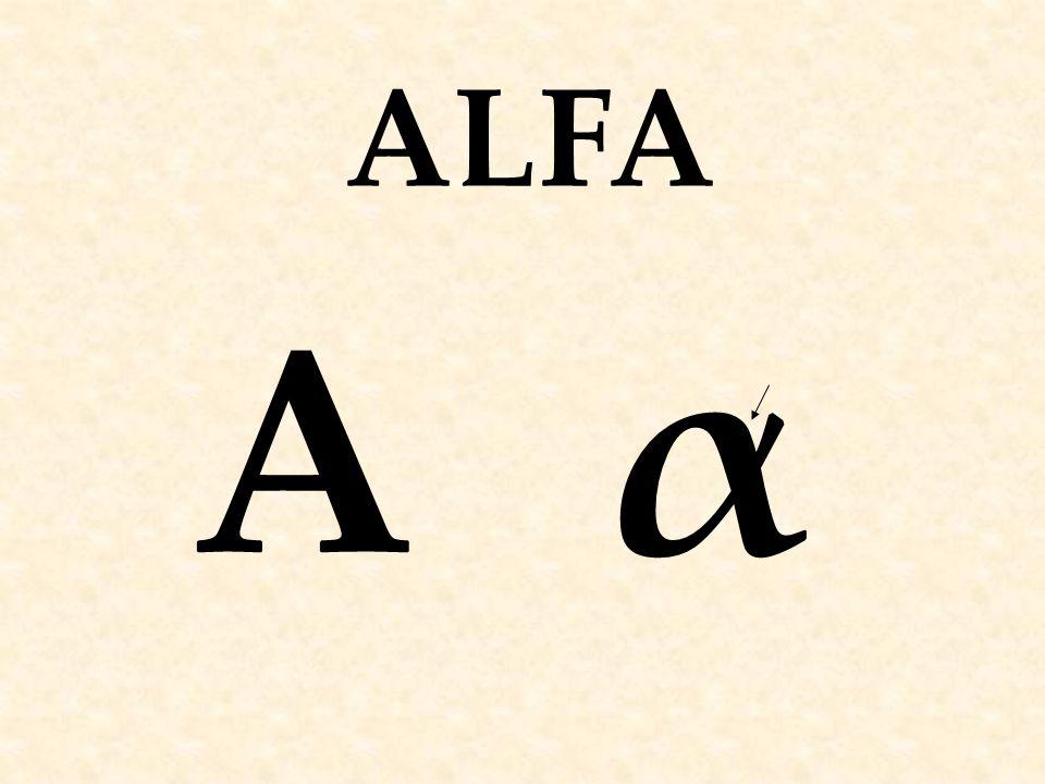 ΑαΑα ALFA