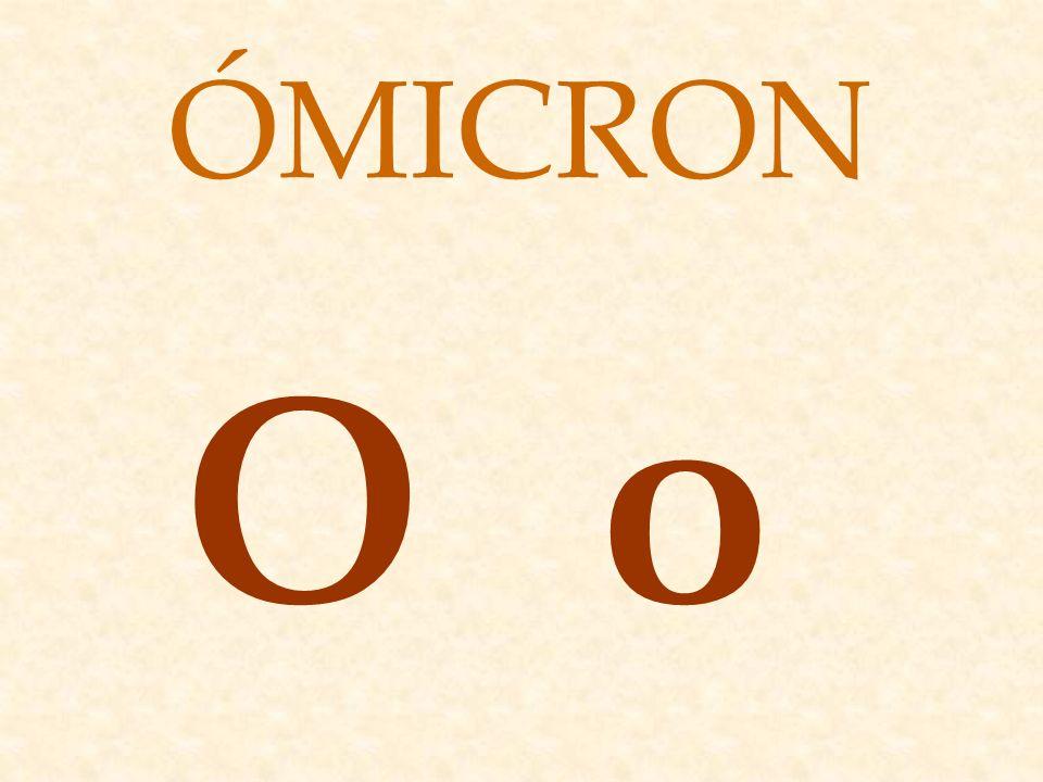 ΟοΟο ÓMICRON