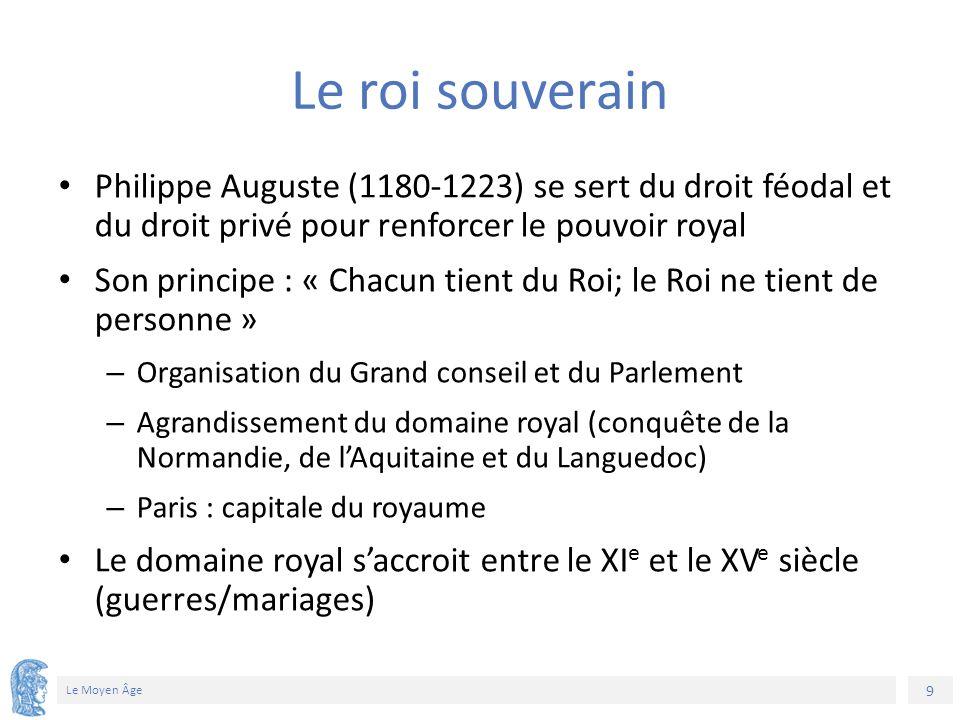 10 Le Moyen Âge Invasions des Vikings (799-1017) Sièges de Paris Création du duché de Normandie (X e siècle)