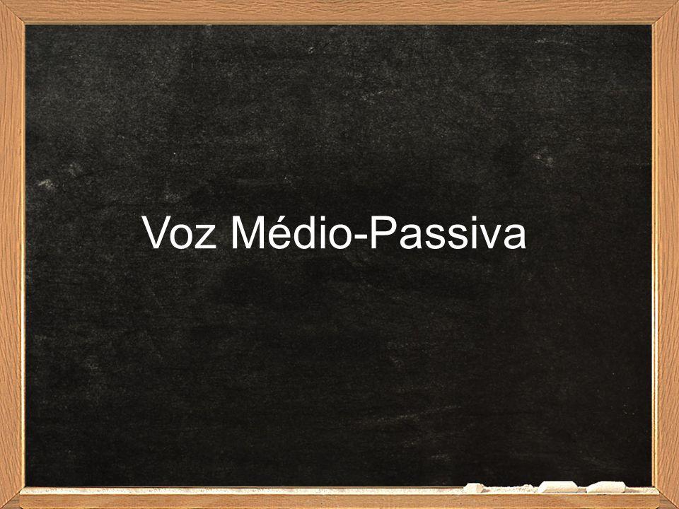 Voz Médio-Passiva
