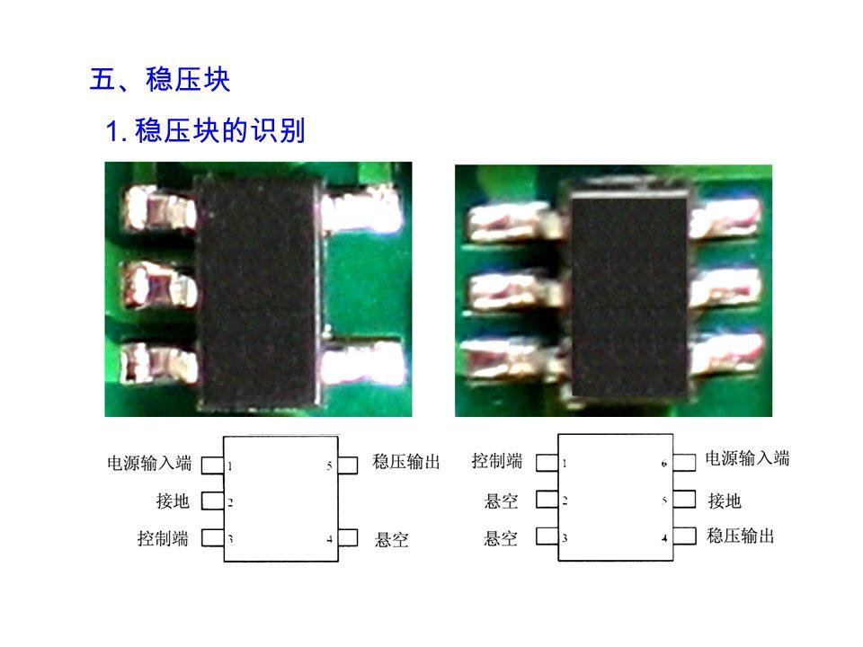 六、集成电路 表面安装集成 IC 的封装形式有:小外型封装,四 方扁平封装和栅格阵列引脚封装等 。 1 .小外型封装 小外型封装又称 SOP 封装,其引脚数目在 28 之下, 引脚分布在两边 。