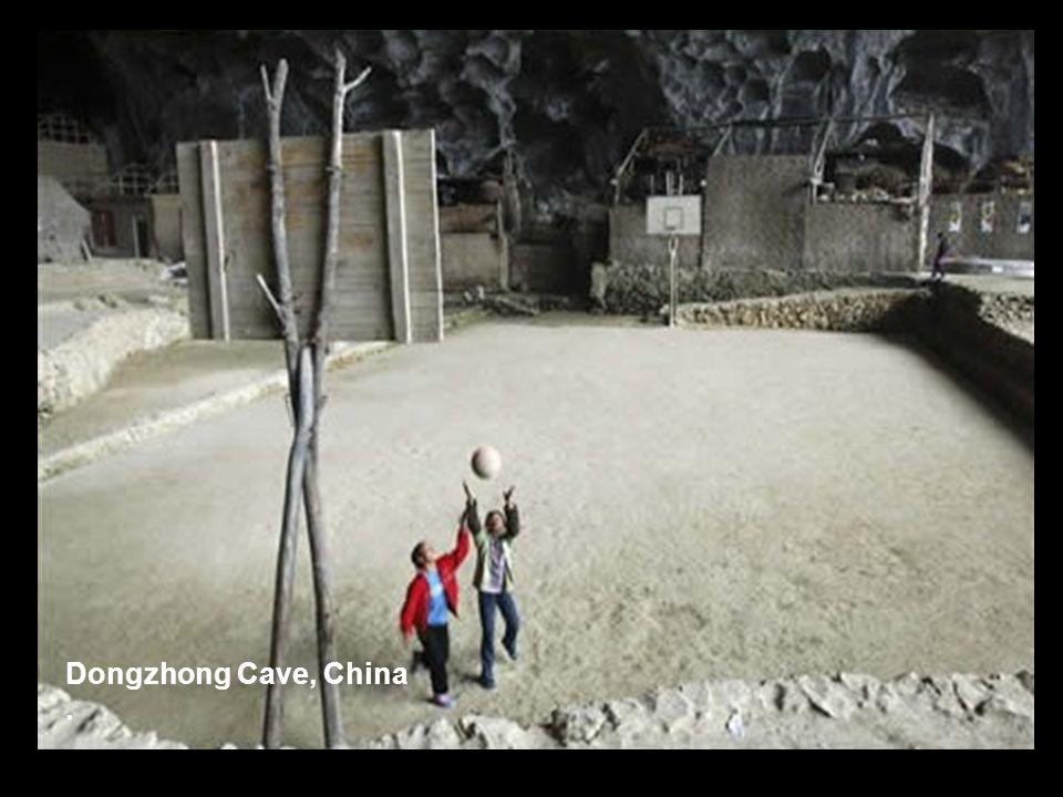 Dongzhong Cave, China.