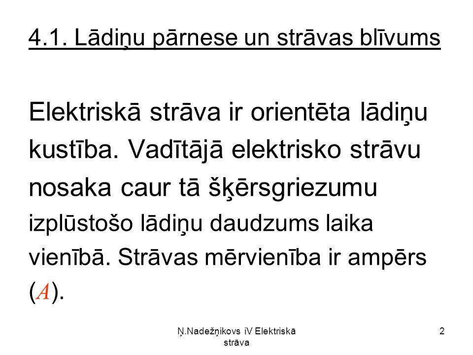 Ņ.Nadežņikovs iV Elektriskā strāva 2 4.1.