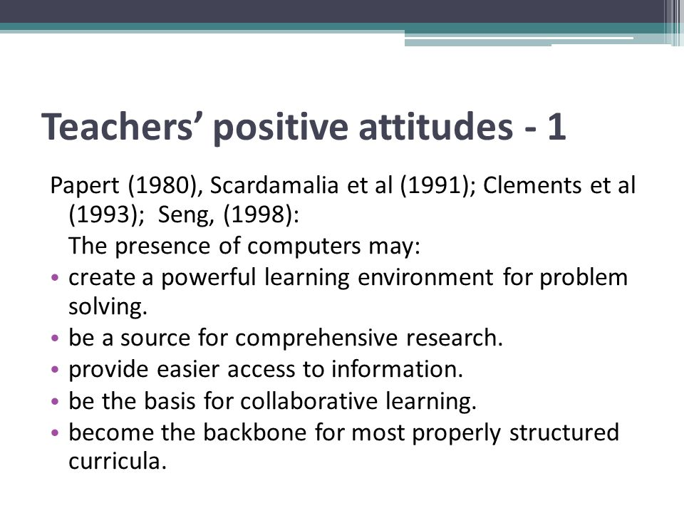 Suggestions for Teaching with PCs in the Kindergarten 2 Teachers should supervise and help immediately.