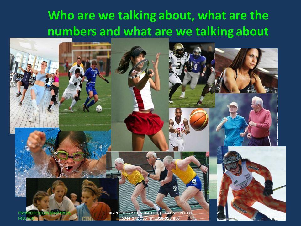 Study in Athlete s Heart PSYRROPOULOS DIMITRIOS, MD, PhD ΨΥΡΡΟΠΟΥΛΟΣ ΔΗΜΗΤΡΗΣ - ΚΑΡΔΙΟΛΟΓΟΣ 6944 372 956 & 2310 913 880 57