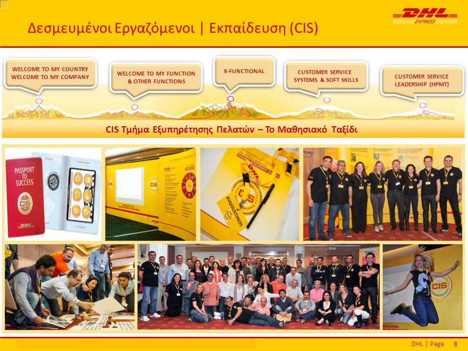 DHL | PageΕθνικά Βραβεία Εξυπηρέτησης Πελατών | Αθήνα | 16 Δεκεμβρίου 2013 88 Δεσμευμένοι Εργαζόμενοι | Εκπαίδευση (CIS) WELCOME TO MY COUNTRY WELCOME TO MY COMPANY WELCOME TO MY COUNTRY WELCOME TO MY COMPANY WELCOME TO MY FUNCTION & OTHER FUNCTIONS X-FUNCTIONAL CUSTOMER SERVICE SYSTEMS & SOFT SKILLS CUSTOMER SERVICE LEADERSHIP (HPMΤ) CIS Τμήμα Εξυπηρέτησης Πελατών – Το Μαθησιακό Ταξίδι