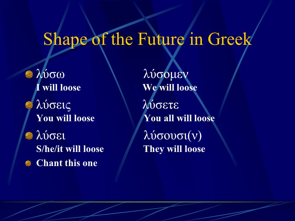 Chapter 6 Vocabulary ἐ πί (Acc.) on, to, toward, against κατά (Gen.) down, against κατά (Acc.) according to μετά (Gen.) with