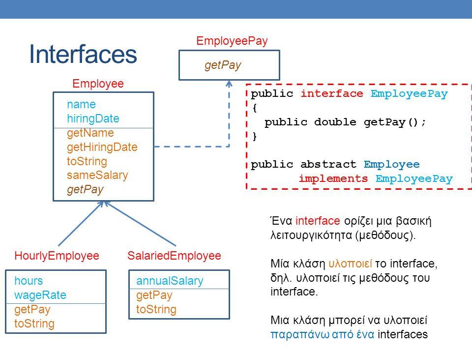 Βρείτε τα λάθη Στο πρόγραμμα στην επόμενη διαφάνεια υπάρχουν διάφορα λάθη Ποια είναι?