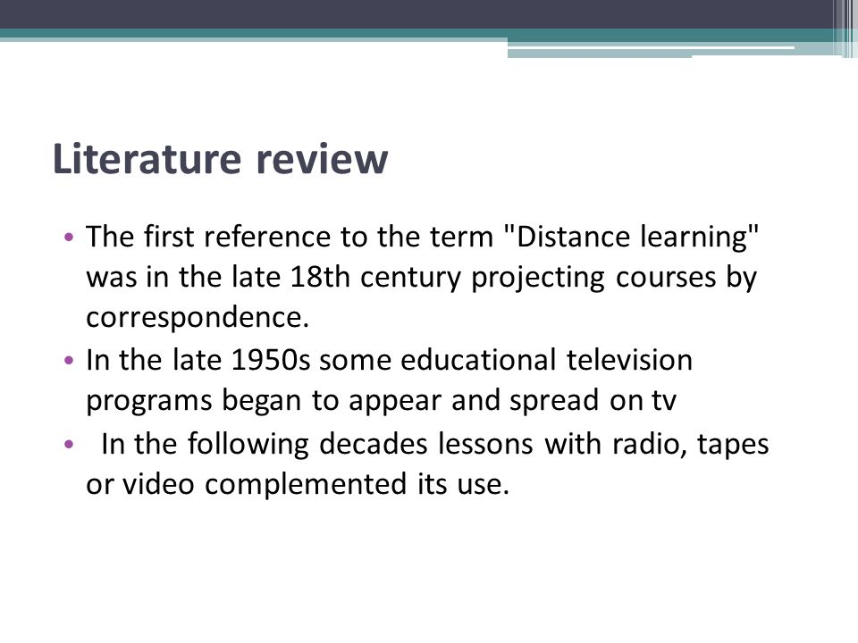 Distance Education- Free learning concern two distinct ideas.