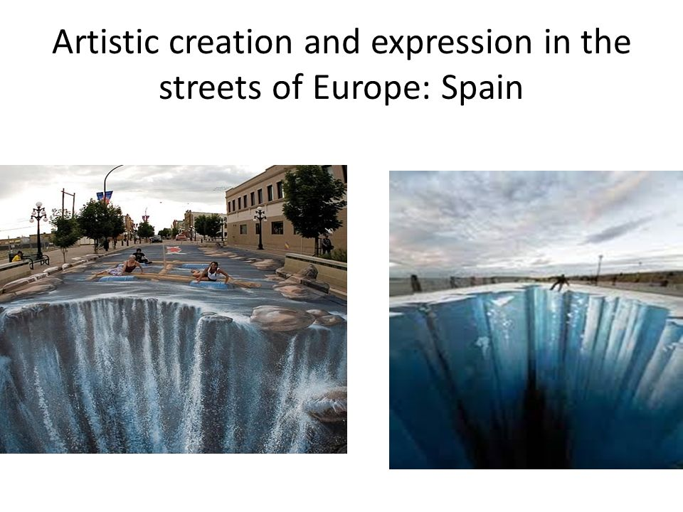 Artistic creation and expression in the streets of Europe: Spain