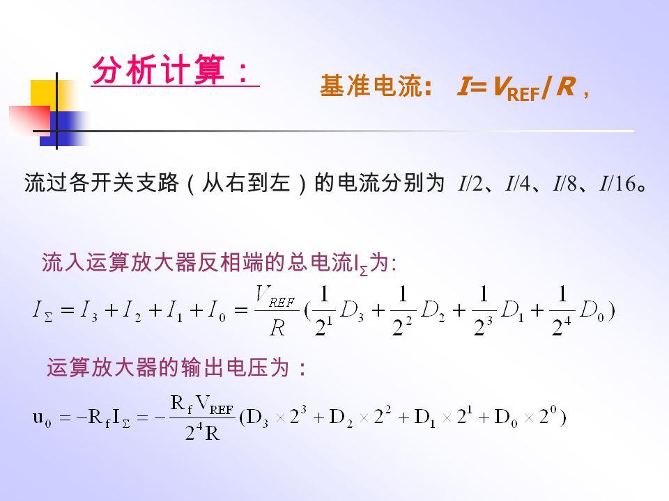 υO(V)υO(V) 0 1 2 3 4 5 6 7 8 序号 D/A 转换器测试波形图