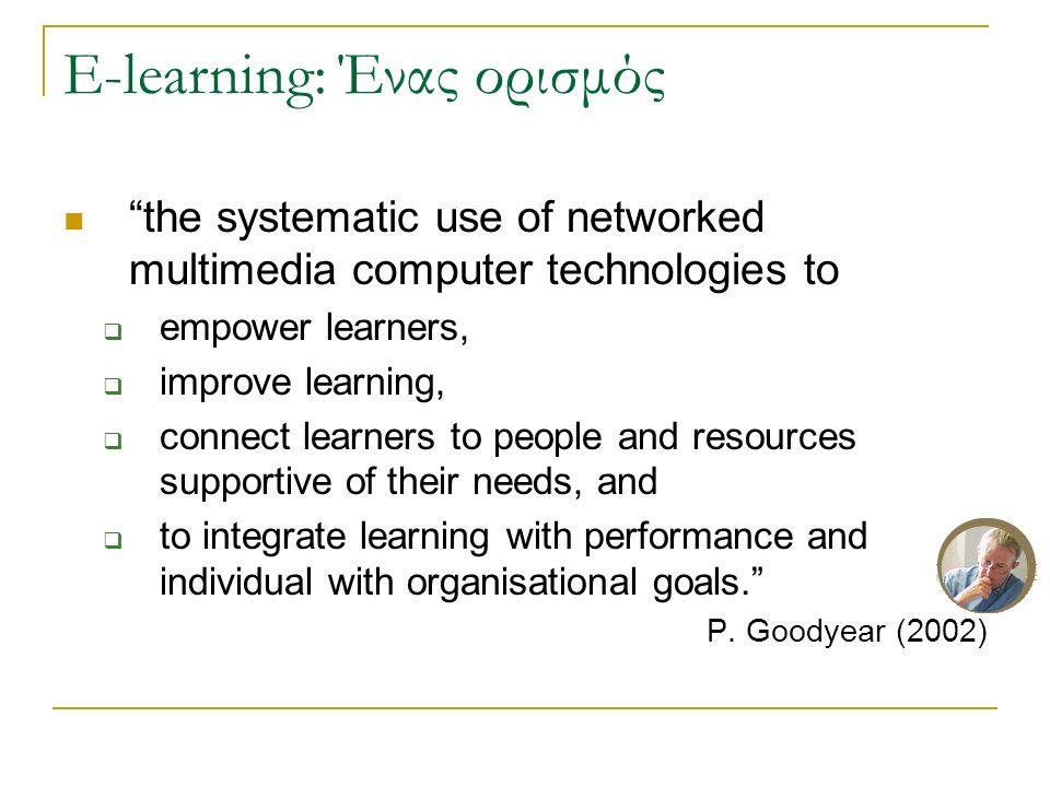 Ανοικτά ερευνητικά θέματα Νέα σενάρια και στρατηγικές  Έμφαση στη συνεργατική μάθηση Διαλειτουργικότητα (interoperability)των συστημάτων ηλ.